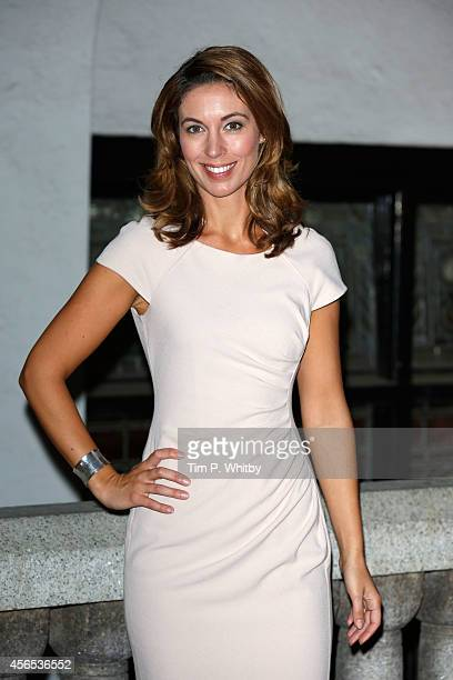 Emma Crosby attends the Inspiration Awards for Women at Cadogan Hall on October 2 2014 in London England