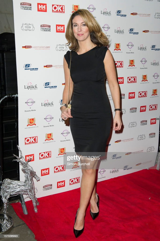 Emma Crosby attends the OK Magazine Christmas Party at Sway on November 27 2012 in London England