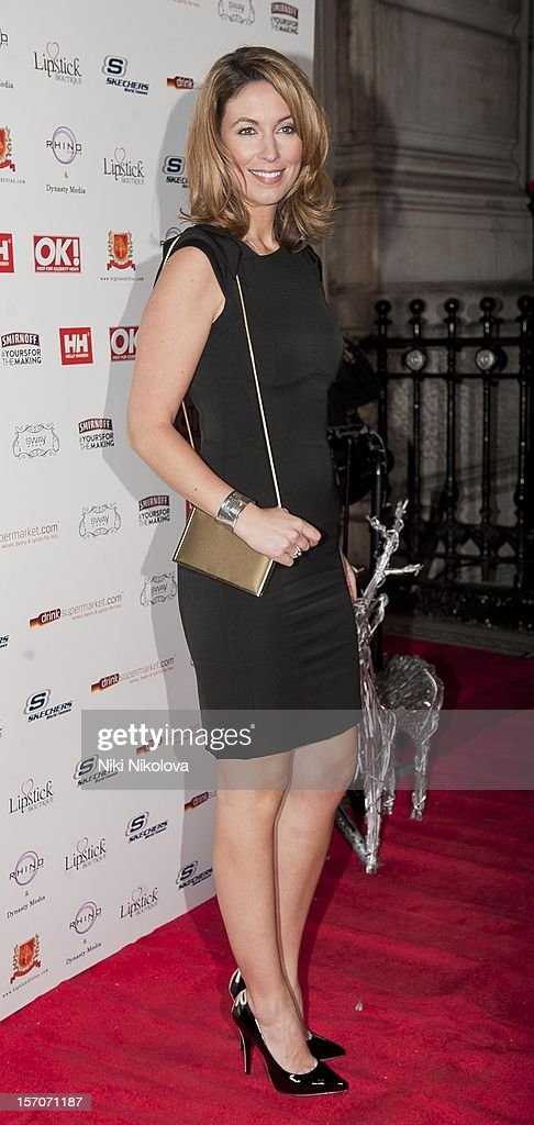 Emma Crosby attends the OK! Magazine Christmas Party on November 27, 2012 in London, England.
