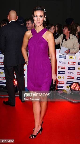 Emma Crosby attends the Pride Of Britain Awards at Grosvenor House on October 5 2009 in London England