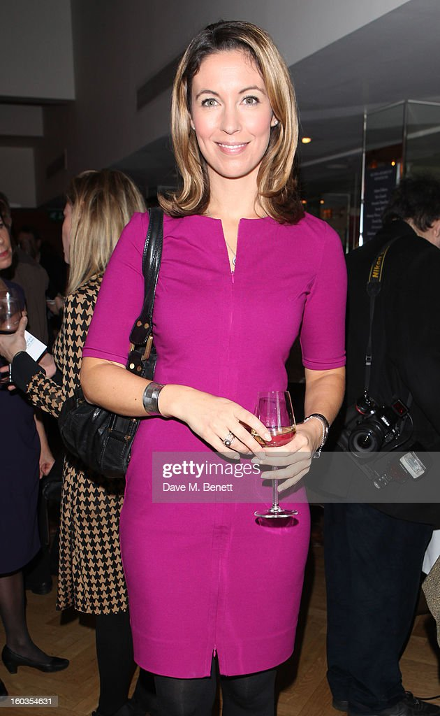 Emma Crosby attends the Sharpham Park preview launch of the Great British Spelt Recipe EBook at The Athenaeum on January 29 2013 in London England