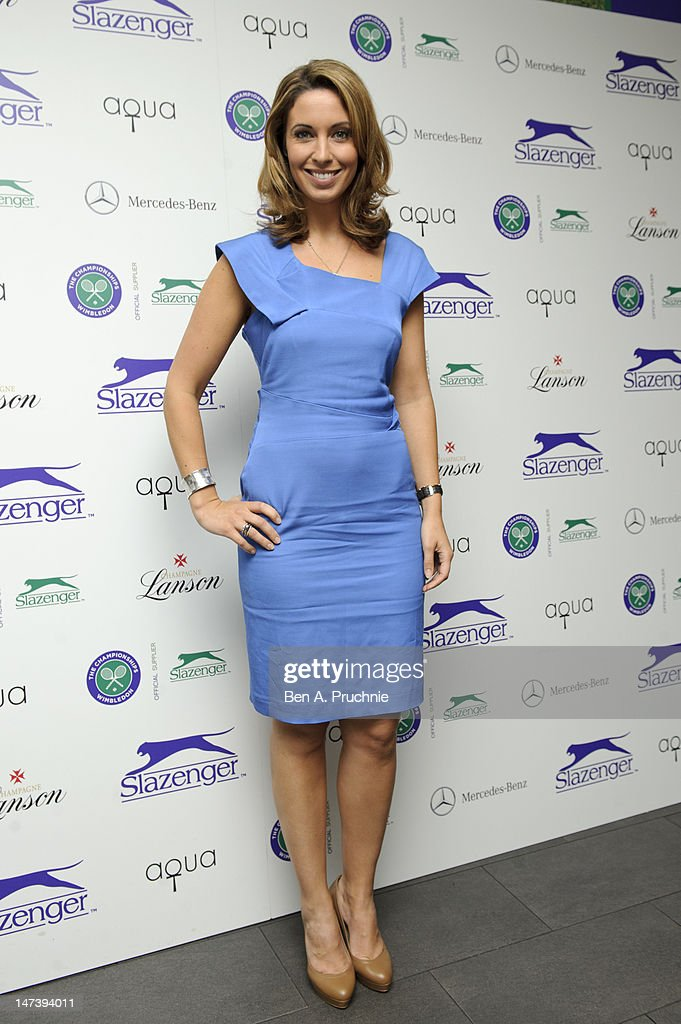 Emma Crosby attends The Slazenger Party 2012 at Aqua on June 28, 2012 in London, England.