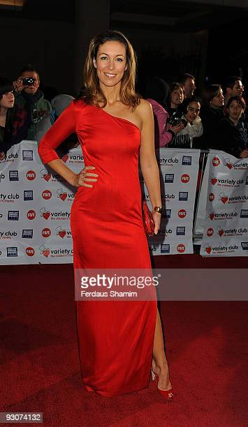 Emma Crosby attends the Variety Club Showbiz Awards at Grosvenor House on November 15 2009 in London England