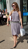 Emma Crosby Sighted outside the ITV Studios on July 30 2010 in London England