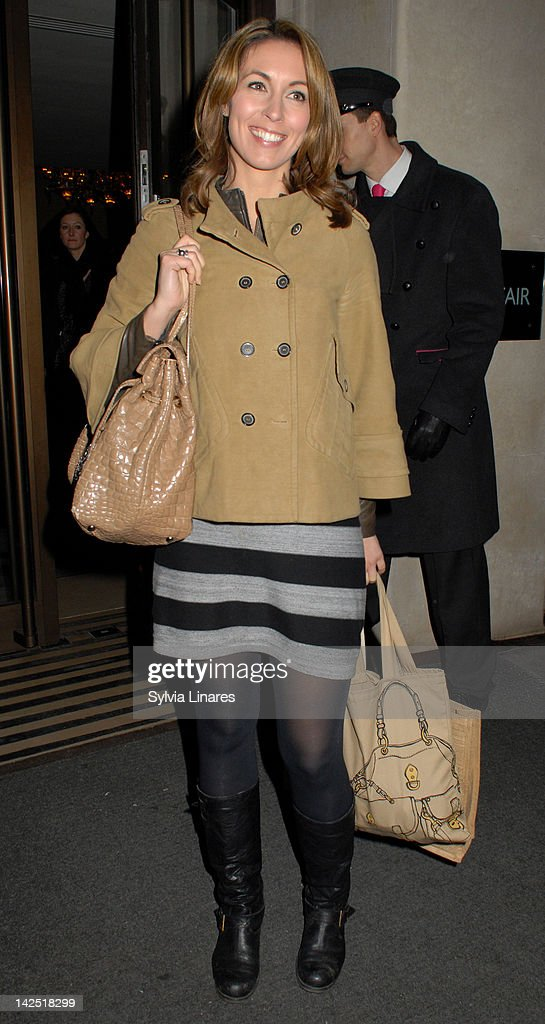 Emma Crosby sighting in May Fair Hotel on April 5 2012 in London England