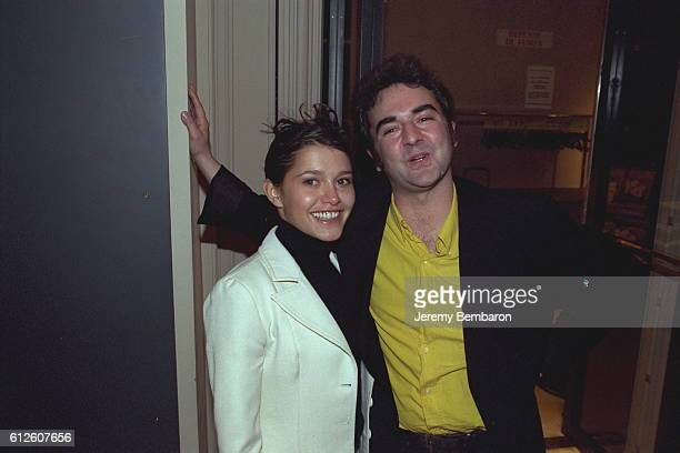Emma de Caunes and Bruno Solo