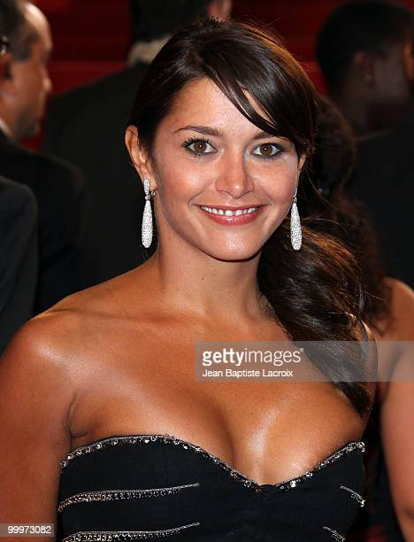 Emma De Caunes attends the 'Certified Copy' Premiere at the Palais des Festivals during the 63rd Annual Cannes Film Festival on May 18 2010 in Cannes...
