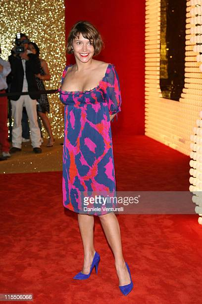 Emma de Caunes during 2006 Cannes Film Festival Dolce Gabbana Party at Hotel Martinez in Cannes France
