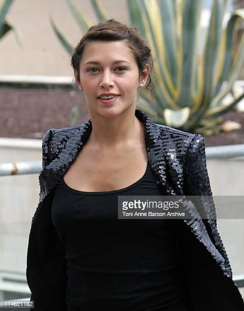 Emma de Caunes during 2007 Cannes Film Festival 'l'Age des Tenebres' Photocall Departures at Palais des Festivals in Cannes France