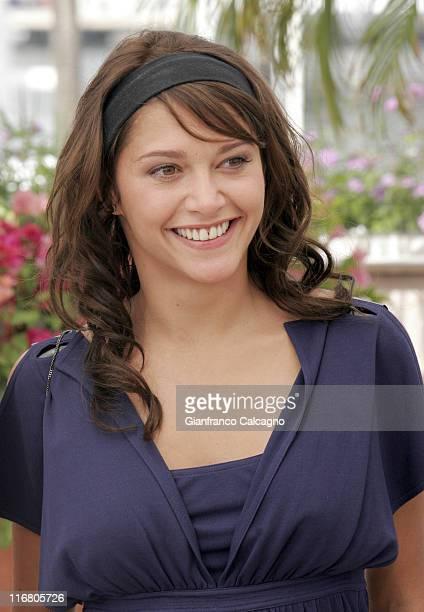 Emma de Caunes during 2007 Cannes Film Festival Le Scaphandre et le Papillon Photocall at Palais des Festivals in Cannes France