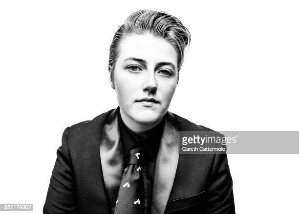Emma Evans A Student Liverpool poses during a portrait session at 'The Elvies' on September 22 2017 in Porthcawl Wales 'The Elvies' is an annual...
