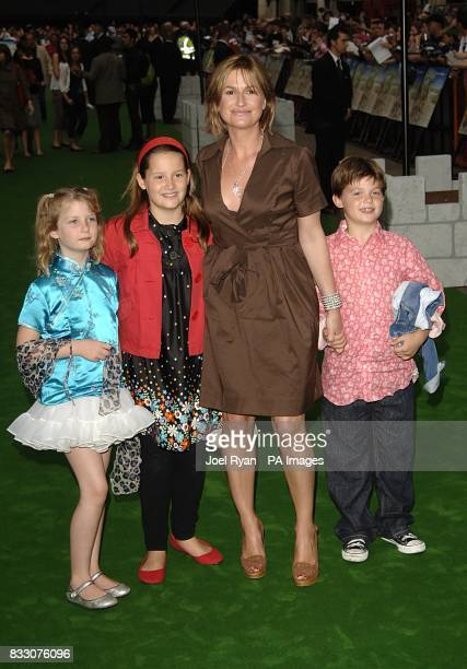 Emma Forbes arrives for the UK Premiere of Shrek The Third at the Odeon Cinema in Leicester Square central London