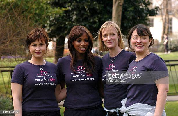 Emma Forbes Shaznay Lewis Hermione Norris and Arabella Weir