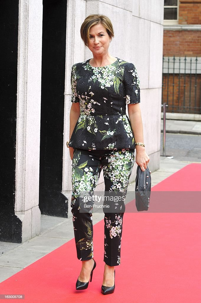 Emma Forbes sighted arriving at The Savoy Hotel on March 3, 2013 in London, England.