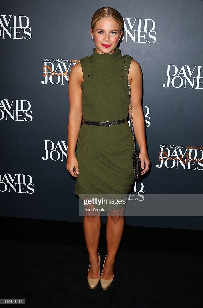 Emma Freedman arrives for the David Jones A/W 2013 Season Launch at David Jones Castlereagh Street on February 6, 2013 in Sydney, Australia.