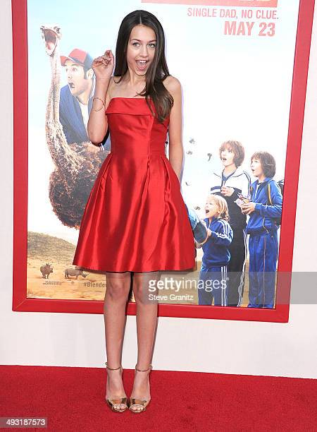 Emma Fuhrmann arrives at the 'Blended' Los Angeles Premiere at TCL Chinese Theatre on May 21 2014 in Hollywood California