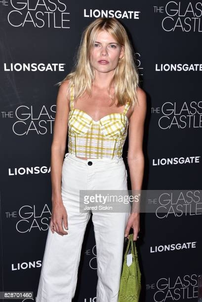 Emma Greenwell attends 'The Glass Castle' New York Screening at SVA Theatre on August 9 2017 in New York City