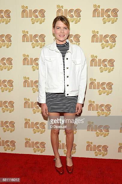 Emma Greenwell attends 'The Nice Guys' New York screening at Metrograph on May 12 2016 in New York City