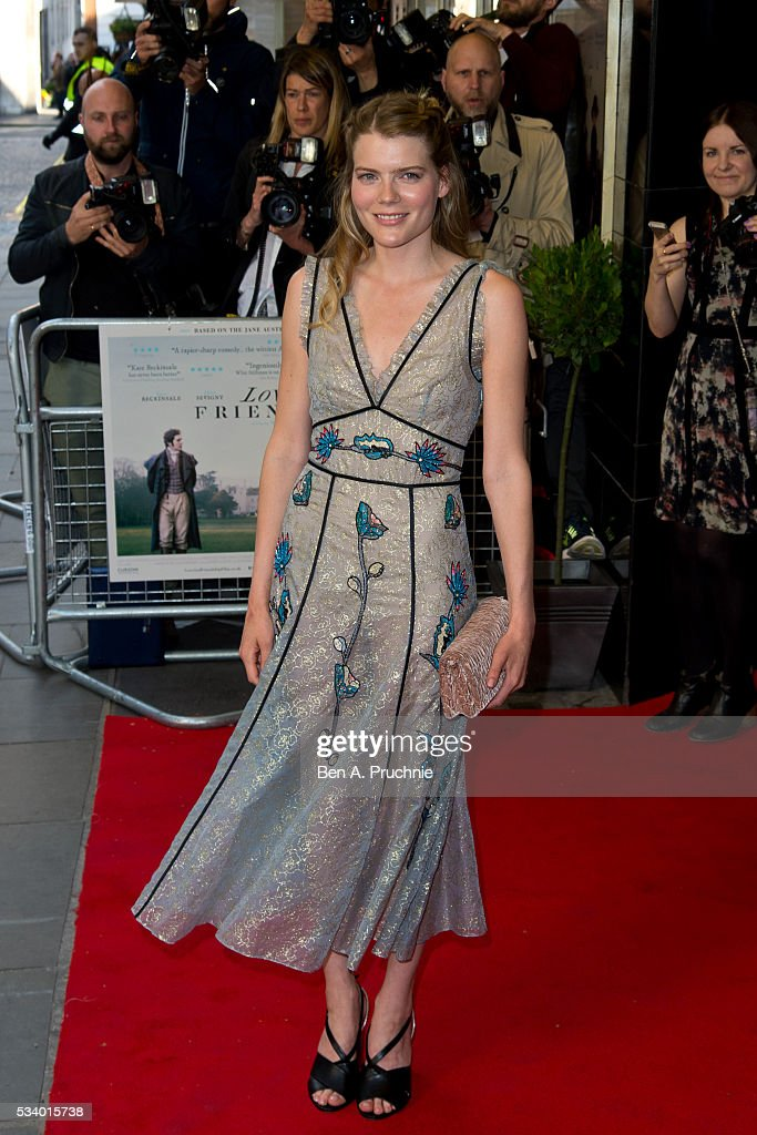 <a gi-track='captionPersonalityLinkClicked' href=/galleries/search?phrase=Emma+Greenwell+-+Actress&family=editorial&specificpeople=7278401 ng-click='$event.stopPropagation()'>Emma Greenwell</a> attends the UK premiere 'Love And Friendship' at The Curzon Mayfair on May 24, 2016 in London, England.