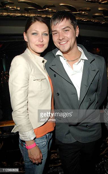 Emma Griffiths and Matt Jay during 'Just My Luck' London Premiere After Party in London Great Britain