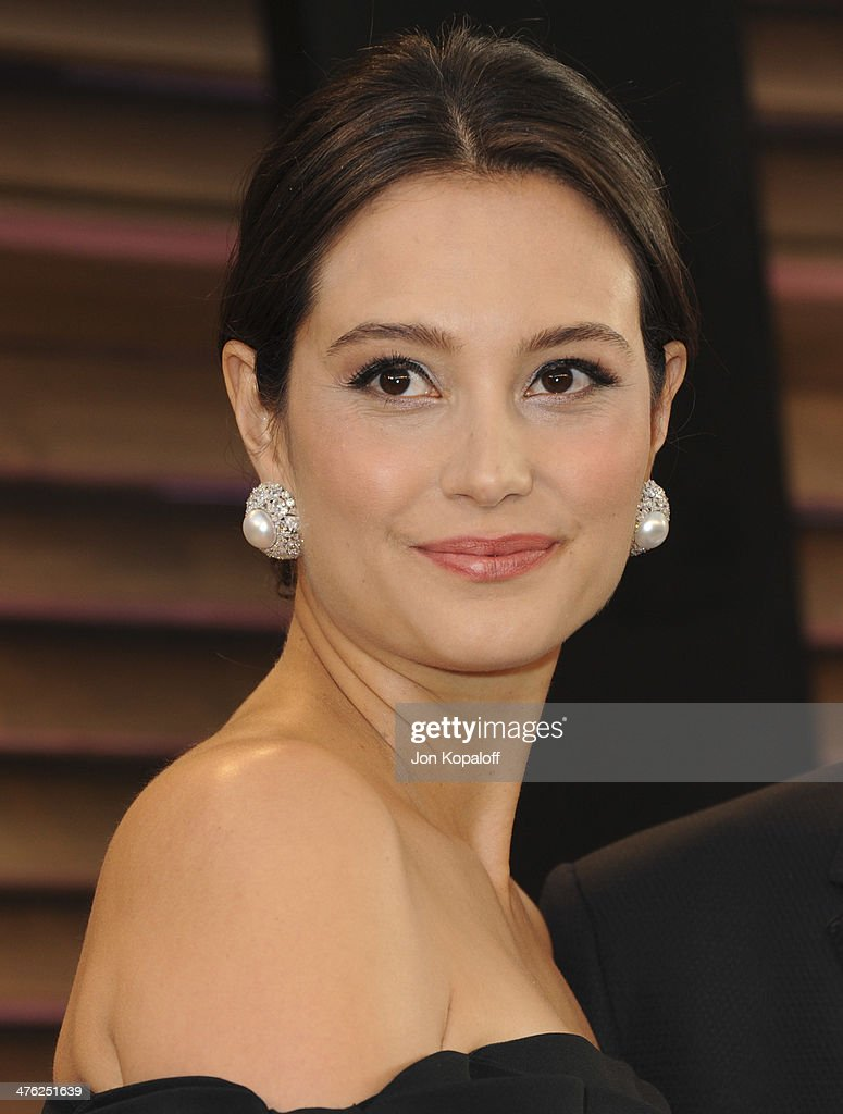 Emma Heming attends the 2014 Vanity Fair Oscar Party hosted by Graydon Carter on March 2, 2014 in West Hollywood, California.