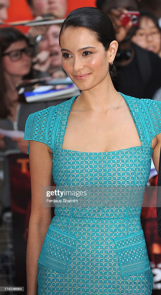 Emma Heming attends the European Premiere of 'Red 2' at Empire Leicester Square on July 22, 2013 in London, England.