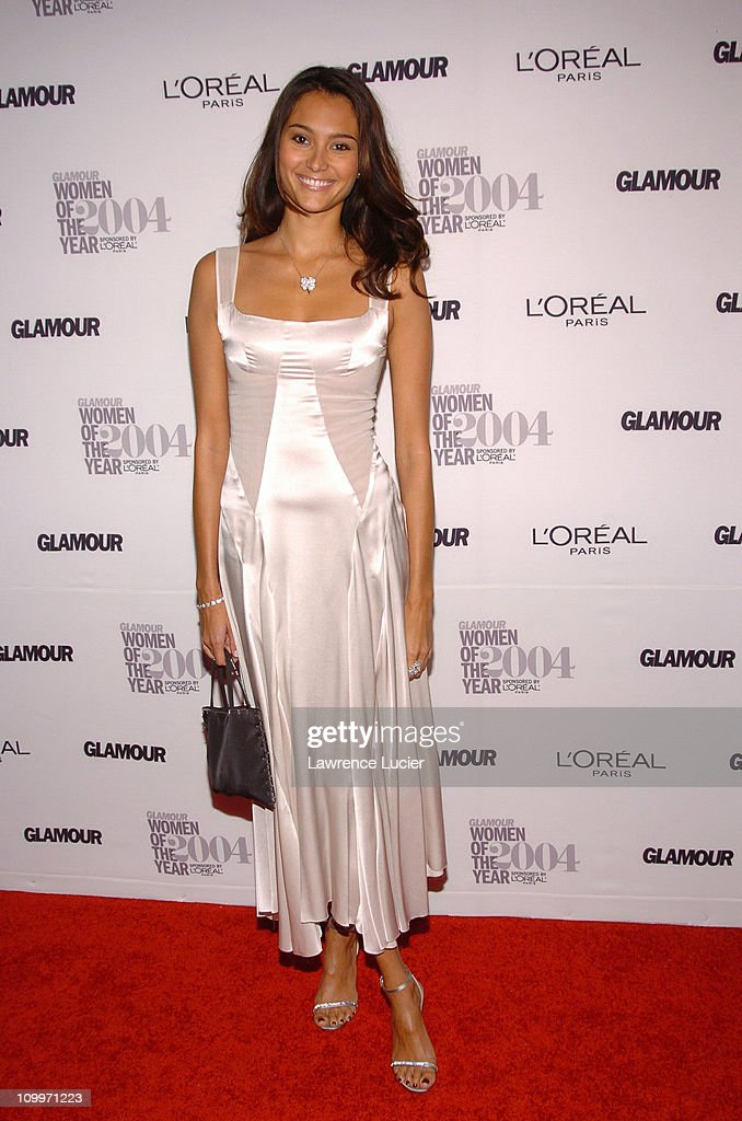 Emma Heming during Glamour Magazine Salutes The 2004 Women of the Year - Arrivals at American Museum of Natural History in New York City, New York, United States.