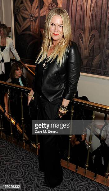Emma Hill creative director of Mulberry poses at the British Fashion Awards 2012 at The Savoy Theatre on November 27 2012 in London England