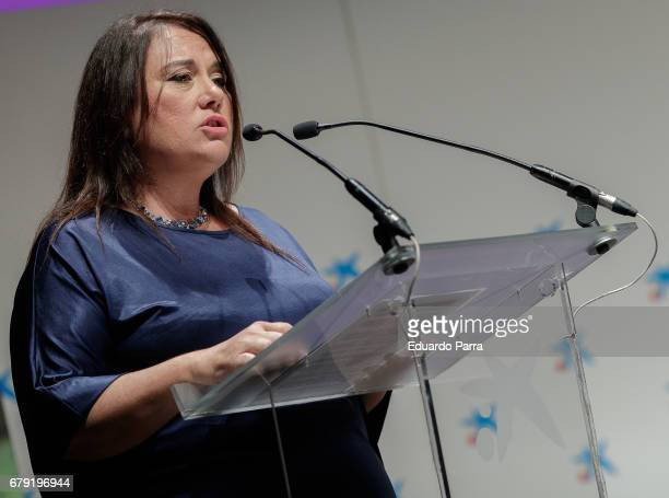 Emma Jimenez attends the 'Foro Mujeres Tercer Milenio' at CaixaForum on May 5 2017 in Madrid Spain