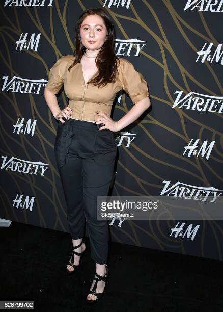 Emma Kenney arrives at the Variety Power Of Young Hollywood at TAO Hollywood on August 8 2017 in Los Angeles California