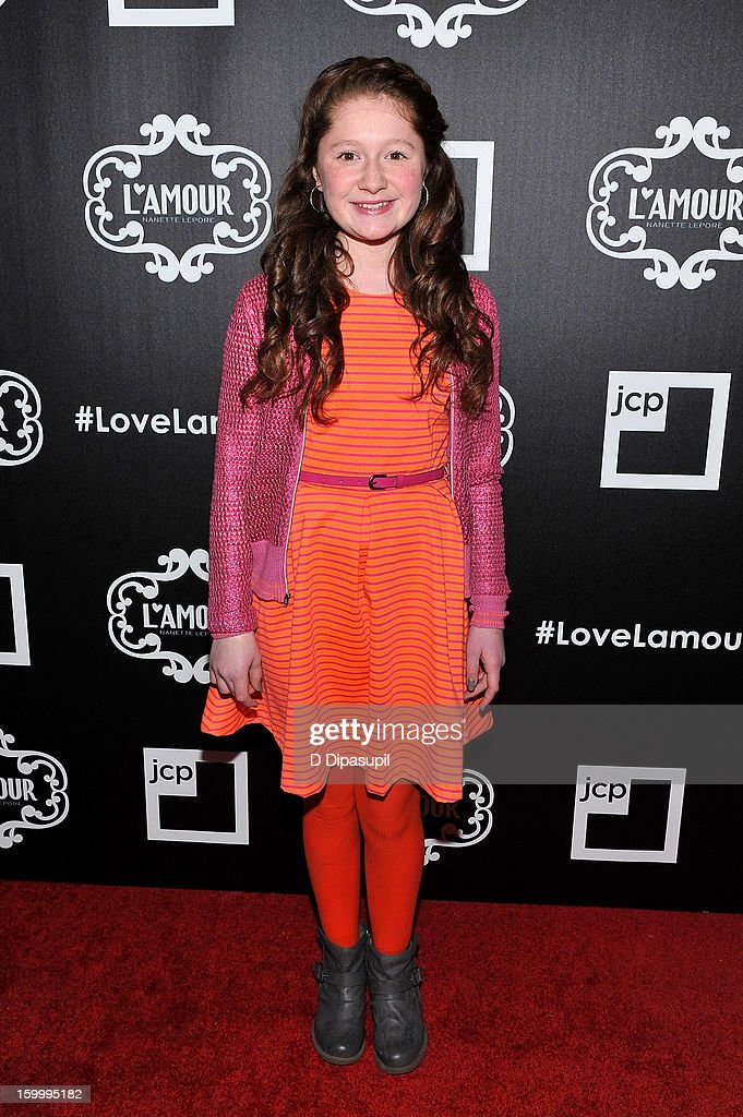 Emma Kenney attends the L'Amour By Nanette Lepore For JCP Launch Party at Good Units on January 24, 2013 in New York City.