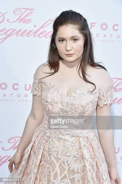 Emma Kenney attends the US Premiere Of 'The Beguiled' Arrivals at Directors Guild Of America on June 12 2017 in Los Angeles California