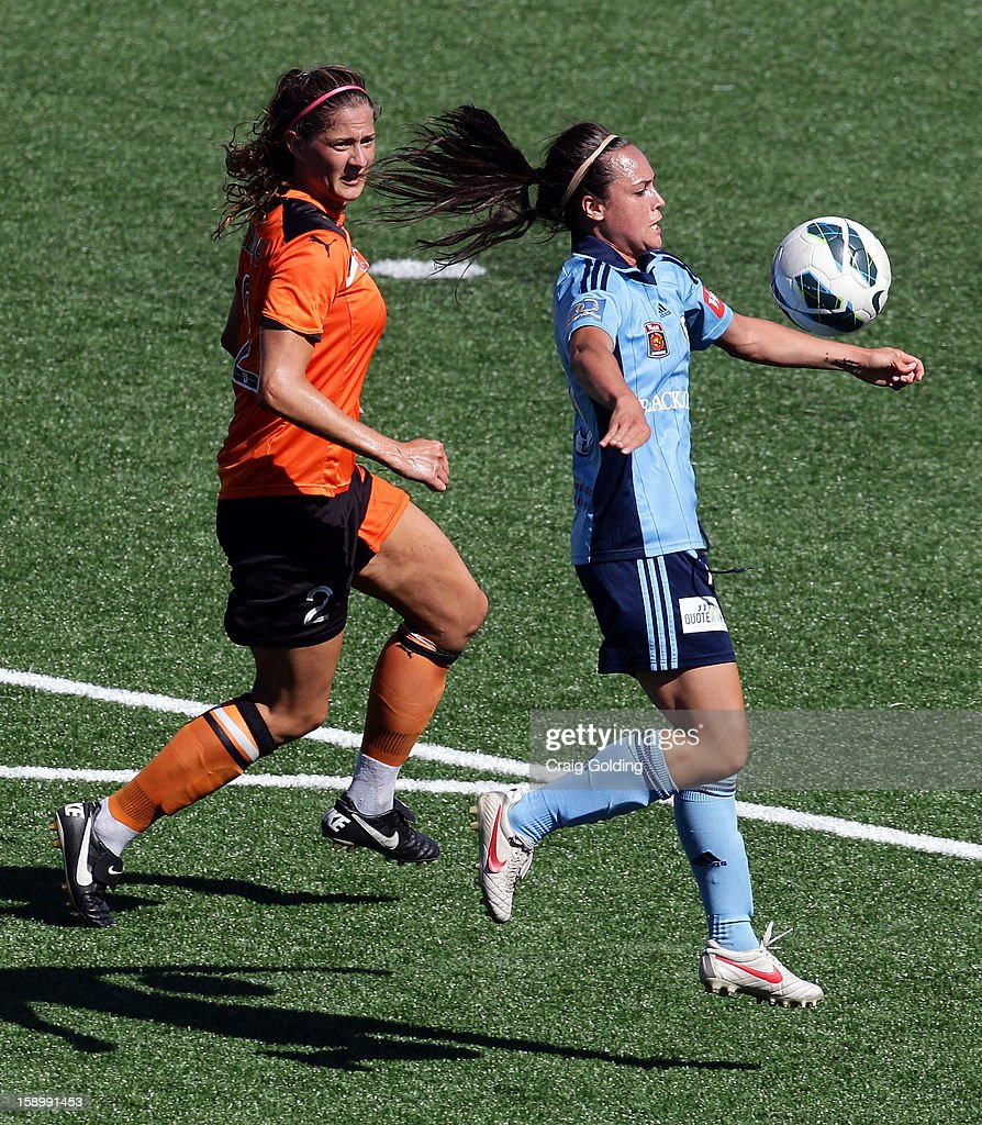 Emma Kete of Sydney during the round 11 W-League match between Sydney FC and the Brisbane Roar on January 5, 2013 in Sydney, Australia.