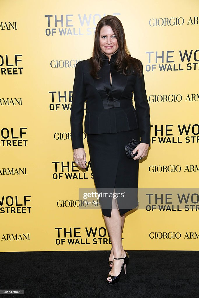 Emma Koskoff attends the 'The Wolf Of Wall Street' premiere at Ziegfeld Theater on December 17, 2013 in New York City.