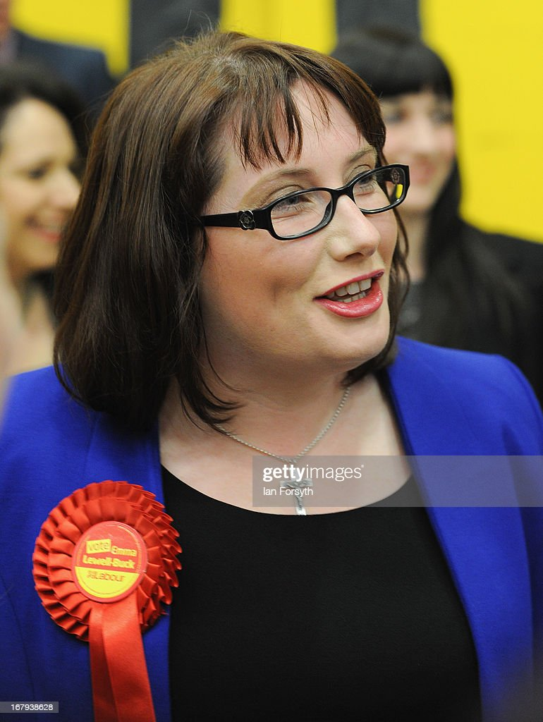 Emma Lewell-Buck of the Labour Party greets well-wishers after winning the South Shields byelection, retaining Labour's seat on May 2, 2013 in South Shields, England. The byelection was triggered after the former Foreign Secretary Davud Milibandannounced recently that he was resigning from the House of Commons in order to leave Britain and head up the International Rescue Committee humanitarian organisation.