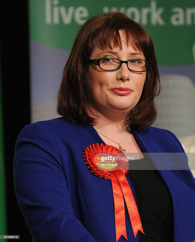 Emma Lewell-Buck of the Labour Party is shown after winning the South Shields byelection, retaining Labour's seat on May 2, 2013 in South Shields, England. The byelection was triggered after the former Foreign Secretary Davud Milibandannounced recently that he was resigning from the House of Commons in order to leave Britain and head up the International Rescue Committee humanitarian organisation.