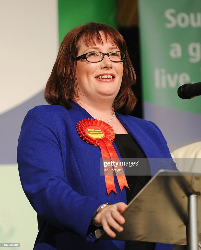 Emma Lewell-Buck of the Labour Party speaks after winning the byelection held on May 2, 2013 in South Shields, England. The byelection was triggered after the former Foreign Secretary David Miliband announced recently that he was resigning from the House of Commons in order to leave Britain and head up the New York based International Rescue Committee humanitarian organisation.