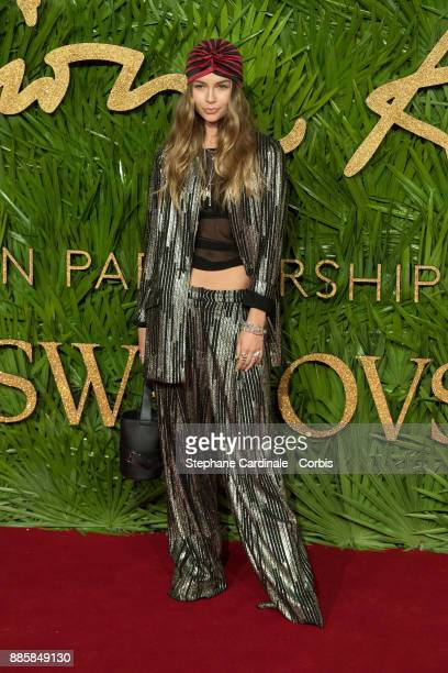Emma Louise Connolly attends the Fashion Awards 2017 In Partnership With Swarovski at Royal Albert Hall on December 4 2017 in London England