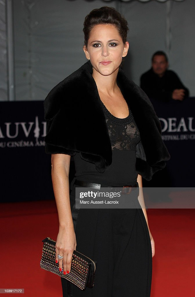 Emma Luchini poses for the'Love and Other Impossible Pursuits' Premiere during the 36th Deauville American Film Festival on September 8, 2010 in Deauville, France.
