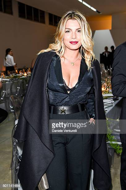 Emma Marrone attends Lampoon First Birthday Event on December 12 2015 in Milan Italy