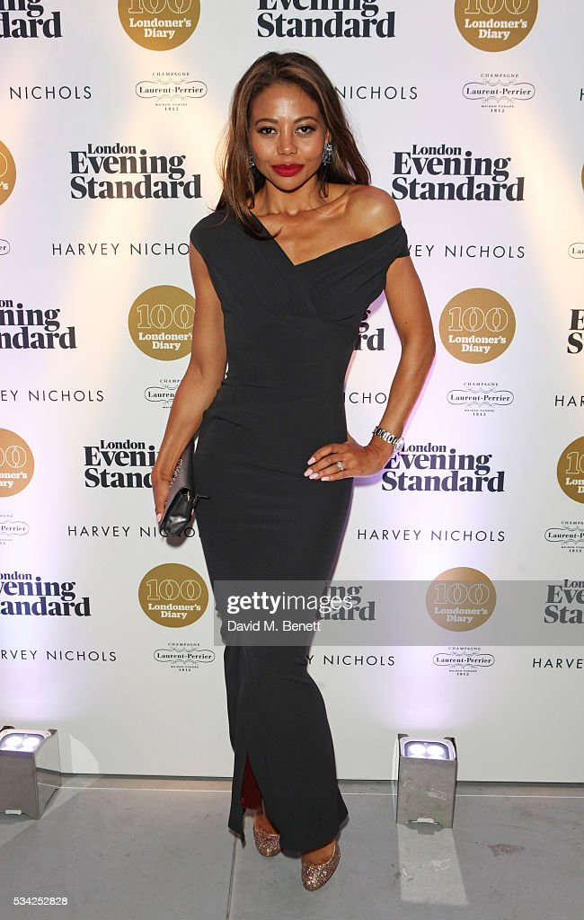 Emma McQuiston, Viscountess Weymouth, attend the London Evening Standard Londoner's Diary 100th Birthday Party in partnership with Harvey Nichols at Harvey Nichols on May 25, 2016 in London, England.