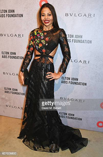 Emma McQuiston Viscountess Weymouth attends 'The Radical Eye' dinner and private view for the Elton John Aids Foundation in association with Bulgari...