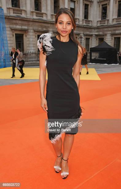 Emma McQuiston Viscountess Weymouth attends the Royal Academy Of Arts Summer Exhibition preview party at Royal Academy of Arts on June 7 2017 in...