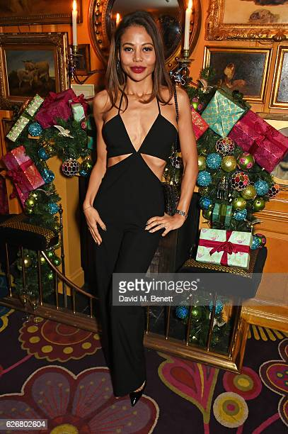 Emma McQuiston Viscountess Weymouth attends the Sunday Times Style Christmas Party at Annabel's on November 30 2016 in London England