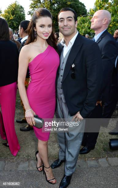 Emma Miller and Mohammed Al Turki attend The Serpentine Gallery Summer Party cohosted by Brioni at The Serpentine Gallery on July 1 2014 in London...