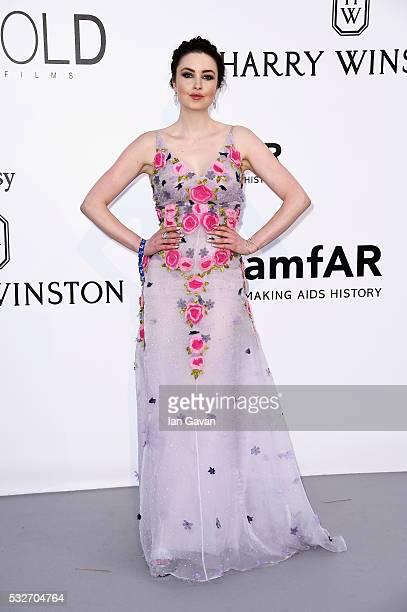 Emma Miller arrives at amfAR's 23rd Cinema Against AIDS Gala at Hotel du CapEdenRoc on May 19 2016 in Cap d'Antibes France