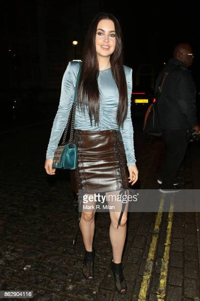 Emma Miller attending the The Trafalgar St James launch party on October 18 2017 in London England