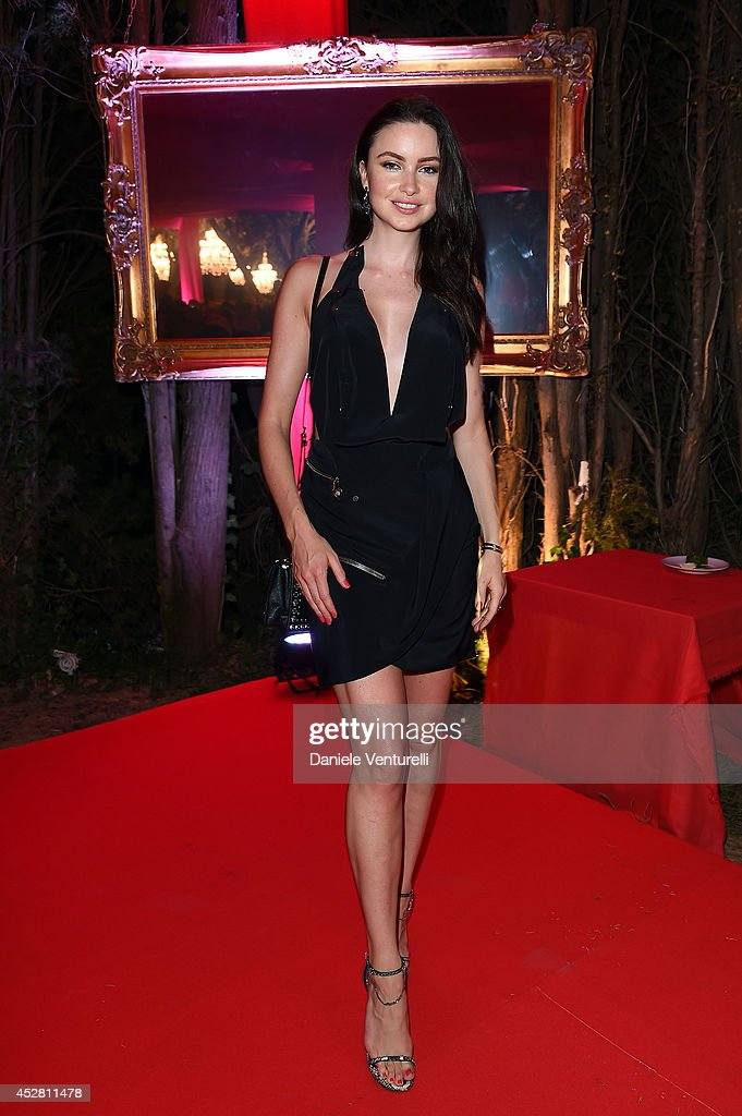 Emma Miller attends Monika Bacardi Summer Party 2014 St Tropez at Les Moulins de Ramatuelle on July 27, 2014 in Saint-Tropez, France.