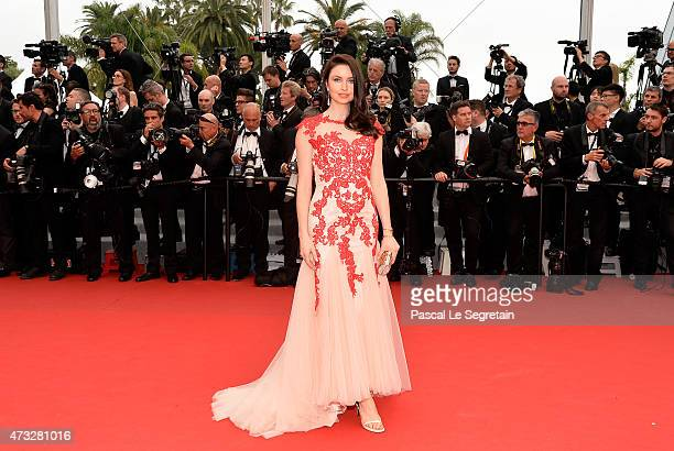 Emma Miller attends Premiere of 'Mad Max Fury Road' during the 68th annual Cannes Film Festival on May 14 2015 in Cannes France
