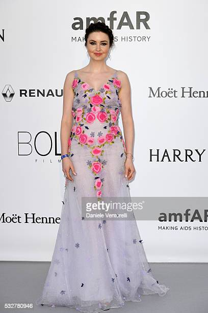 Emma Miller attends the amfAR's 23rd Cinema Against AIDS Gala at Hotel du CapEdenRoc on May 19 2016 in Cap d'Antibes France